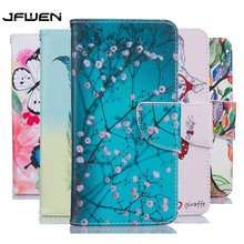 For Samsung Galaxy J3 Case Leather Wallet Flip Cover For Funda Samsung Galaxy J3 2016 Case Cover Leather Painted Phone Cases