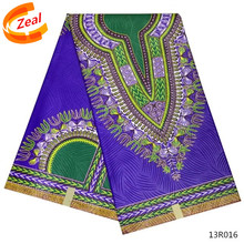 Sales promotion series Ankara African Wax Print Fabric 100% cotton purple Super JAVA wax textile for clothes 13R010-13R019(China)