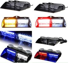 2016   16 LED Car Strobe Light Dash Emergency 18 Flashing Light with Suction Car Accessories !