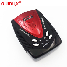 QUIDUX Russian Voice Auto anti Car GPS radar Detectors Police Speed 360 Degree Strelka,X,K,Ka,Ku band for Car Speed Limited(China)