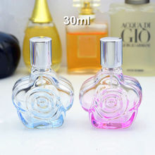 10pcs/lot 30ml Collectible Perfume Glass Bottles Designer Decorative Perfume Spray Bottles Cosmetic Packaging Bottle Wholesale
