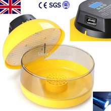 EU Plug ! CE approved family type holding 10 chicken eggs mini egg incubator(China)