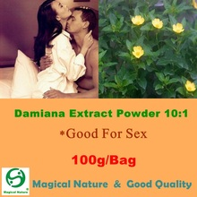 100g High Quality Natural Herbal Product Damiana Extract Powder 10:1(China)