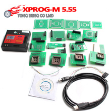Newest X Prog-M Xprog m V5.55 ECU Chip Tunning Programmer X Prog M Box 5.55 XPROG-M Better Than 5.50 Xprogm 5.55