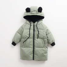 Buy Children Jackets Boys Girls Winter coat Baby Winter Coat Kids warm outerwear Hooded Coat snowsuit Overcoat Clothes W100 for $13.24 in AliExpress store