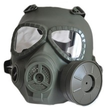 2017 Hot CS Airsoft Paintball Dummy Gas Mask with Fan for Cosplay Protection Halloween Evil Antivirus Skull Festival Decor