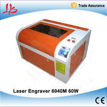 LY 6040M 60W CO2 Laser Engraving Machine With 600*400mm Engraving Area, Mini Laser Cutting Machine for PCB Wood Acrylic Working