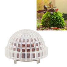 Fish Tank Decoration Natural Mineral Aquatic Moss Ball for Aquarium Crystal Red Shrimp Fish Tank -Y102