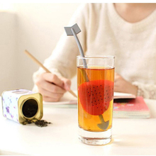 New Wholesale Valentine Gift Cupid Heart Silicone Teapot Teacup Tea Strainer Infuser Filter J3gl 2016 New Arrivals