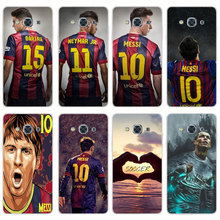 G498 Fashion Soccer Player Transparent PC Hard Case Cover For Samsung Galaxy J 3 5 7 A 3 5 7 2015 2016 GRAND 2 PRIME