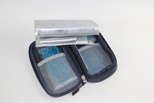 Insulin glaciated cold storage bag refrigerated box portable refrigerator medical heat packs drug freezer bags ice pack +2icepad(China)