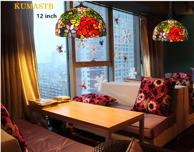 Tiffany Rose Lamp 12