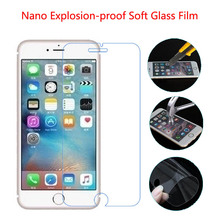 ON SALE! HD Clear Top Quality 0.26 mm LCD Clear Tempered Glass Screen Protector For iPhone 7 Plus 6 6plus 5 5s 5c se 4 4s