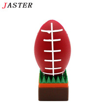JASTER mini Rugby USB Flash Drive American Football pen drive 2gb 4gb 8gb 16gb 32gb sports pendrives cartoon memory stick