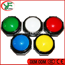 5pcs Diameter 60mm button/100 type convexity push button/Round pushbutton for one touch game/western cow boy slot game machine