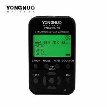 Yongnuo YN-622N-TX YN622N-TX YN 622N TX i-TTL LCD wireless flash controller wireless flash trigger transceiver For Nikon DSLR(China)