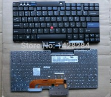 SSEA original Free Shipping Brand new US English Keyboard For Lenovo IBM thinkpad ThinkPad T60 R60 R61 Z60 R400 T400 T500 W700
