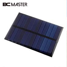 BCMaster 12V 2.5W Solar Panels Camping Professional Lamp Lighting 200*90mm Traveling