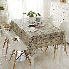 Linen Table Cloth Europe 3d Wood Home/Outdoor/Party Table Cover Toalha De Mesa Manteles Para Mesa Nappe De Table Tablecloth