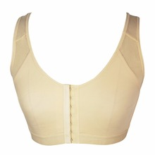 Women Post Surgical surgery Front Open Recovery Bra with adjustable shoulder strap Post Breast Augmentation Operative bra E08(China)