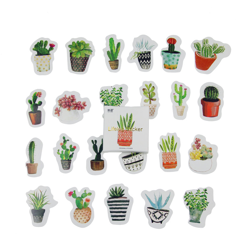 45pcs/pack Flowers Totem Memo Stickers Pack Post It Kawaii Planner Scrapbooking Stickers Stationery Escolar 2018 School Supplies
