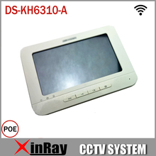 Indoor Video Intercom DS-KH6310-A with 7''Touch Screen Digital Wifi Touchtone Indoor unit Support Phone App