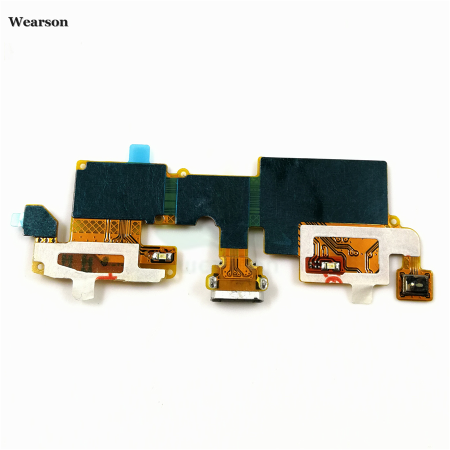 For ZTE Blade V6  Blade X7  Blade D6 USB Port Charge Board Flex Cable With Microphone Tested High Quality (1)