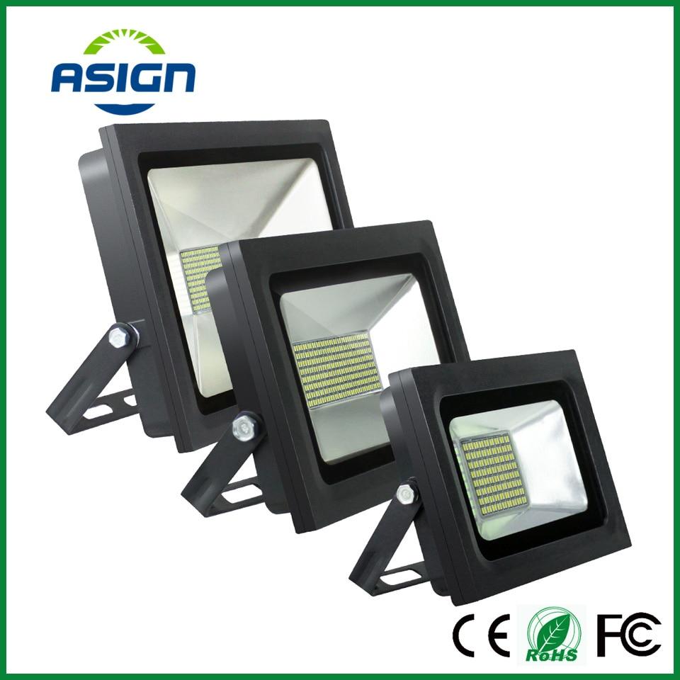 LED Floodlight 200W 150W 100W 60W 30W 15W Ultal Thin Led Flood Light Spotlight 220V 230V Waterproof Outdoor Wall Lamp Projectors<br><br>Aliexpress