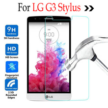 Buy 9H Tempered Glass Full LG G3 Stylus G3Stylus D850 D85 D690 D693 D690 Screen Protector Cover Front Guard Film Protective Film for $1.31 in AliExpress store