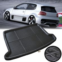 EVA Car Trunk Tray Boot Cushion Mat Rear Trunk Liner Cargo For VW Golf 6 GTI 2009-2013