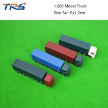 Teraysun Model trains landscape Scale Model trucks for building layout in scale 1/200