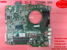 Mother board For HP 15-N DA0U83MB6E0 DDR3 Series 732086-501 732086-001 Laptop Motheoard tested ok(China)