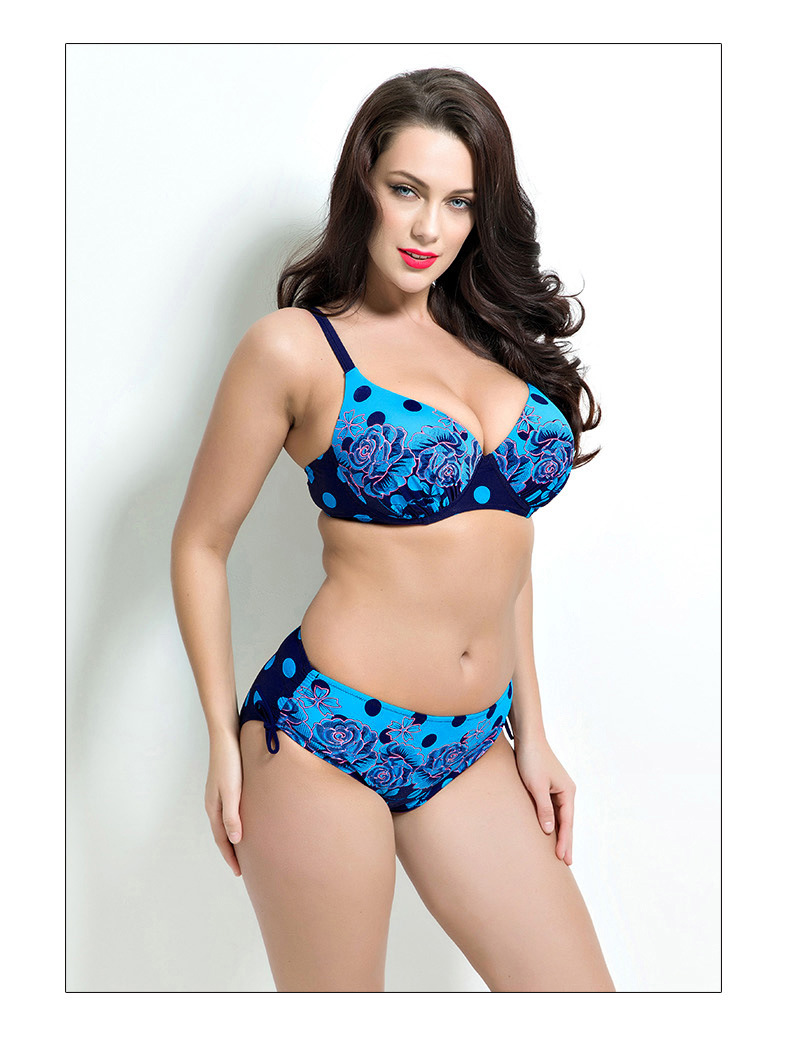 Bikini big size 2017 Swimwear female Women Bikini Set plus size summer Bathing Suit low waist Swimsuit Push Up Brazilian Bikinis<br><br>Aliexpress