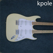 New Style Kpole Double neck Guitar Stratocaster 12 Strings & 6 Strings Electric Guitar Musical Instruments guitar(China)
