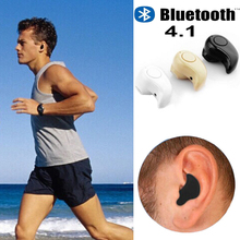 Universal  Mini Stealth Earphone Headphone Little Finger Size Wireless Bluetooth 4.0 Stereo Headset Handfree for All phone