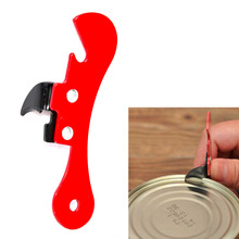 Economic Cooking tools can opener multifunctional can opener beer bottle opener super good Jar Opener Random Color
