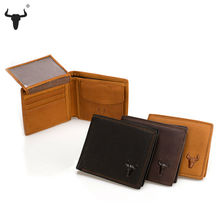 Retro Practical Oil Waxing Leather Travel Wallet Cowhide Wallets For Men's Genuine Thickening Men Purses Card Holder Coin Pocket