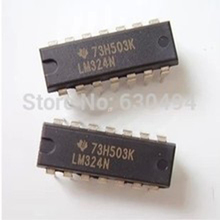 Free Shipping One Lot 10 PCS LM324N DIP LM324 OPERATIONAL AMPLIFIERS NEW AND ORIGINAL(China)