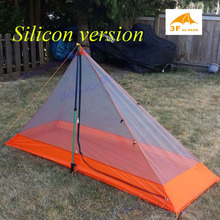 3F pedestiran silicon coating inner tent ultra light high quality summer outdoor camping tent(China)