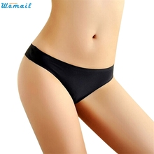 Womail Newly Design Women Seamless Sexy Underwear Briefs Comfy Lingerie Wear cute & low beauty July23 Drop Shipping