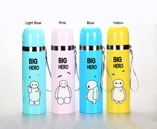 Cute Kids Stainless Steel Insulated Thermos Coffee Cup Travel Mug Water Bottle