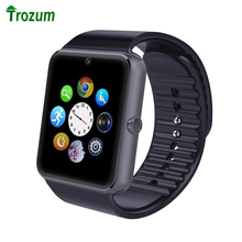 Buy TROZUM Smartwatch GT08 Smart watch Bluetooth Clock Sync Notifier Support Sim Card Bluetooth Connectivity IOS Android Phone for $11.88 in AliExpress store