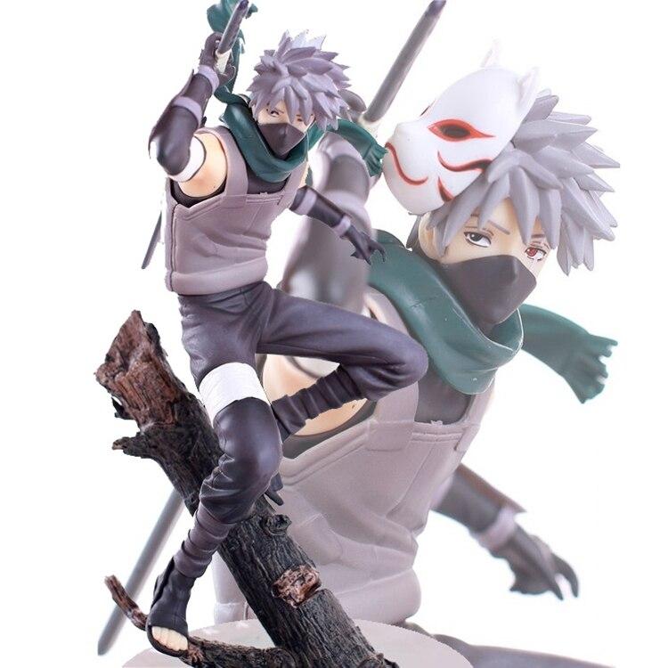 24cm Anime Naruto Hatake Kakashi PVC Action Figure Collectible Toy With Box<br><br>Aliexpress
