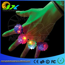 LED Light Up Jelly Rings Party Favors Glow Blinking Finger Rings Cosplay Accessories Fun Party Decoration(China)