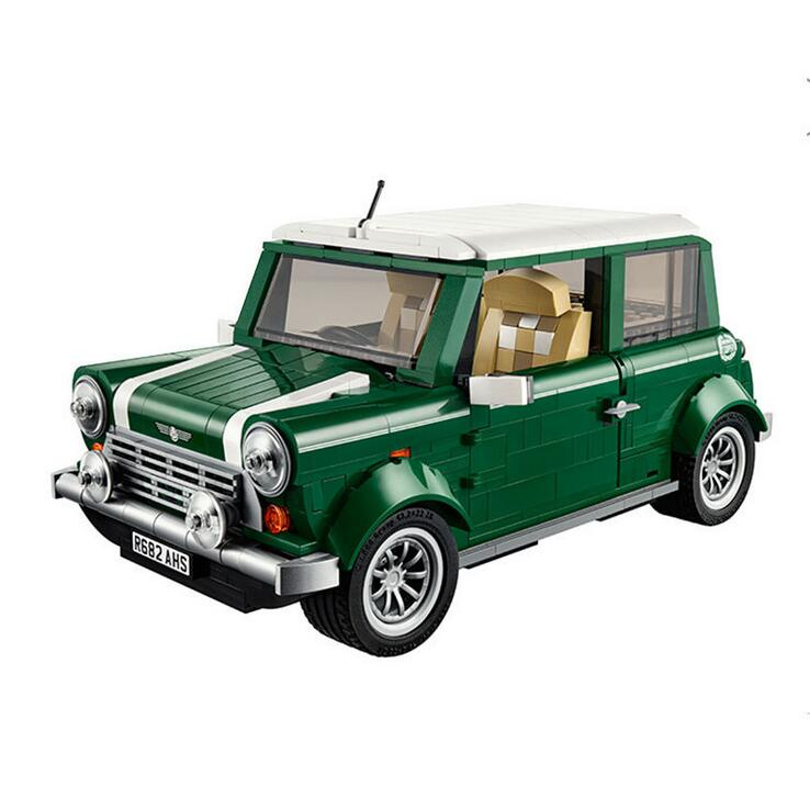lepin 21002 technic series MINI Cooper Model Building Blocks Kits Bricks Kids Gift Toys Compatible With 10242<br><br>Aliexpress