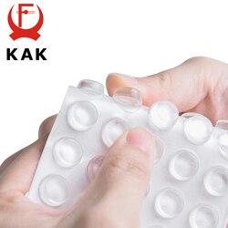 KAK 30-80 шт самоклеющийся силикон мебель колодки ограничители Для шкафчика Резиновый демпфер буферная Подушка Защитная мебель оборудование