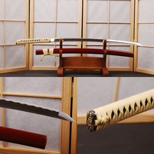1060 Carbon Steel Blade Fully Handmade Full Tang Sharp Training Espada Japanese Samurai Cosplay Katana Sword Good Christmas Gift