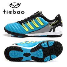 TIEBAO Brand Professional Adults Soccer Shoes Men Women Outdoor Football Boots Cleats TF Turf Soles Athletic Trainers Sneakers