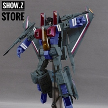 [Show.Z Store] [Pre-order] Yes Model YM08 Starscream Green Version BBQ BB7 YM Masterpiece Transformation Figure Toy