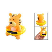 New 83g Orange Plastic Tiger Shaped Baby Bath Water Temperature Measuring Tool